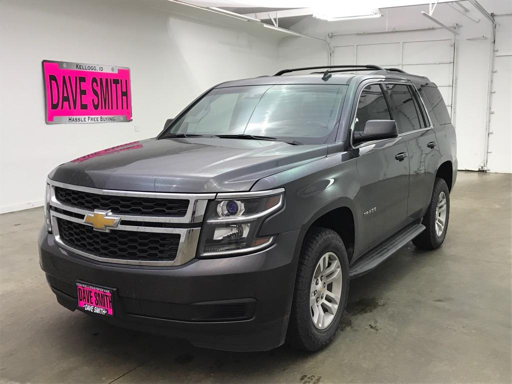 Pre Owned 2015 Chevrolet Tahoe Lt 4wd 4dr In Spokane Valley 12548za Chevy Chrome Roof Rack