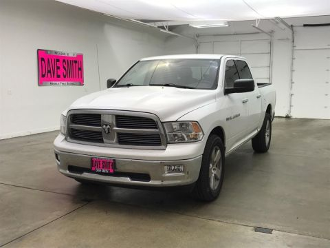 Pre-Owned 2012 Ram 1500 Big Horn Crew Cab Short Box
