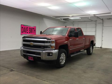 Pre-Owned 2015 Chevrolet Silverado 2500 LTZ Crew Cab Short Box 4WD