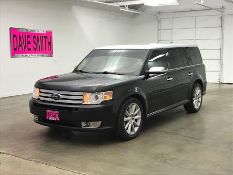Pre-Owned 2012 Ford Flex Limited w/EcoBoost
