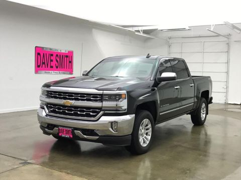 Pre-Owned 2017 Chevrolet Silverado 1500 LTZ Crew Cab Short Box 4 Wheel Drive Crew Cab
