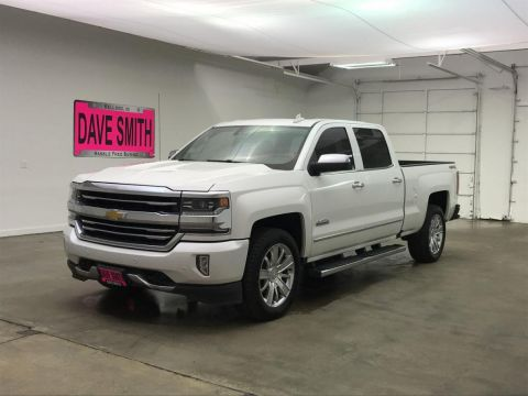 Pre-Owned 2017 Chevrolet Silverado 1500 High Country Crew Cab Short Box 4 Wheel Drive 4WD Crew Cab 153.0